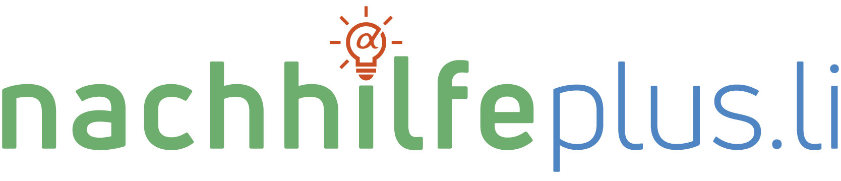 nachhilfeplus.li Logo